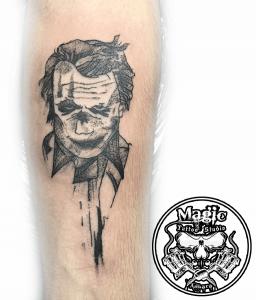 Joker - İç Kol Dövme Modeli